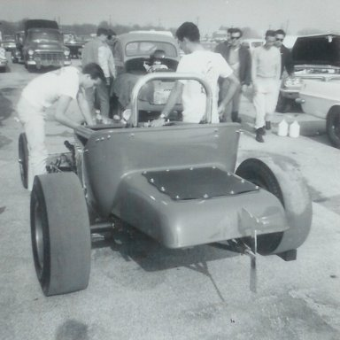 T-roadster at 1963 Winternationals