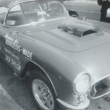 Dick Taylor M/SP Vette at 1963 Winternationals