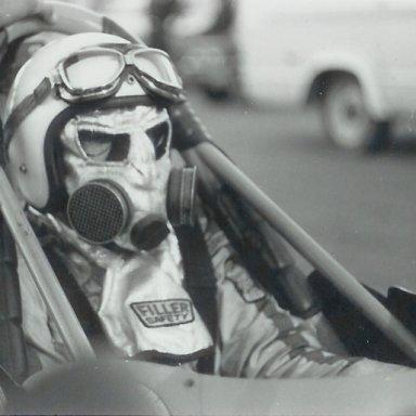Unidentified racer at Bonneville Raceway