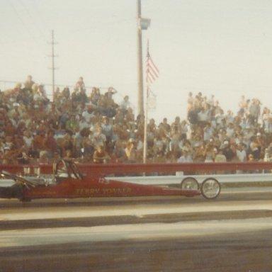 Terry Yonker at Bonneville Raceway