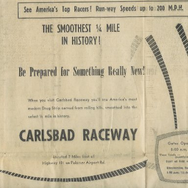 Carlsbad Raceway, November 15, 1964