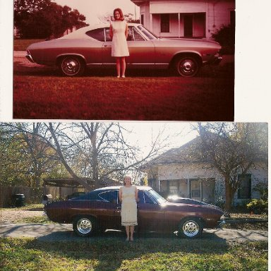 68 Chevelle - then and now