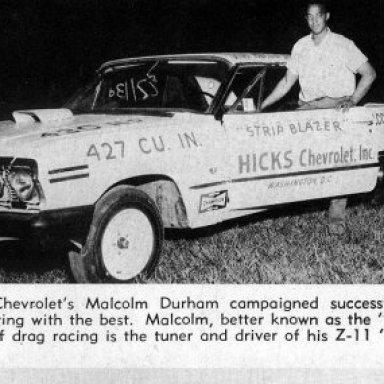 63 427W Z11 Malcolm Durham's Strip Blazer