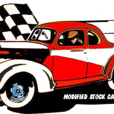 modified stock car
