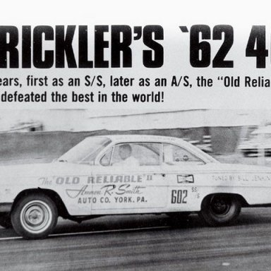 Strickler's '62 409 Defeated the Best in the World