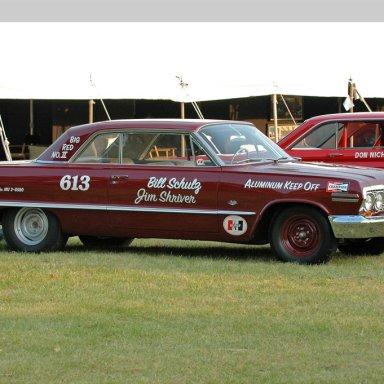 Bill Schulz and Jim Shriver's 63 Z11 Impala Big Red II