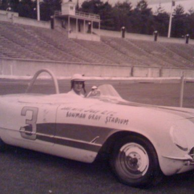 Pee-Wee Jones Corvette