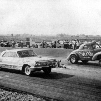 Z11 Bill Clay 1963 Impala v a Willys