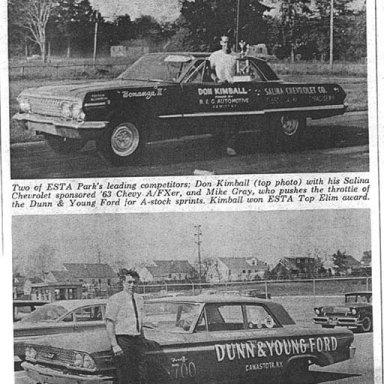 """Z11 Don Kimball 63 Impala A/FX """"Bonanza II""""-Salina Chevrolet"""
