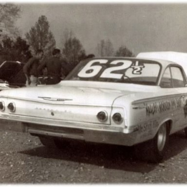 """Dyno Don 1962 & 1/2 BelAir with Z11 """"style"""" engine components released by the factory in August 1962. ."""
