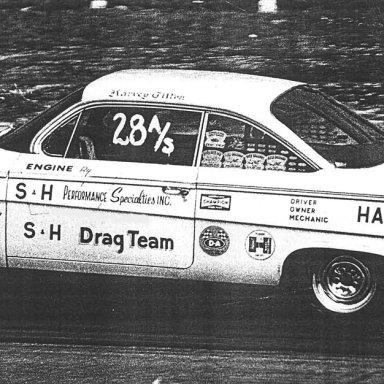 "Harvey Tilton 62 409 ""S&H Race Team"" at ATCO"