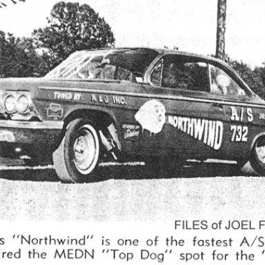 Joe Gardner's Northwind in 1963