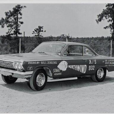 Joe Gardner's Northwind, Engine by Bill Jenkins