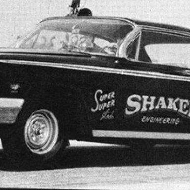 Reed Draper Chevrolet 1962 Impala 409-looks like B/FX on window, aluminum front end?