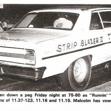 Strip Blazer II-Durham vows revenge on Ronnie Sox