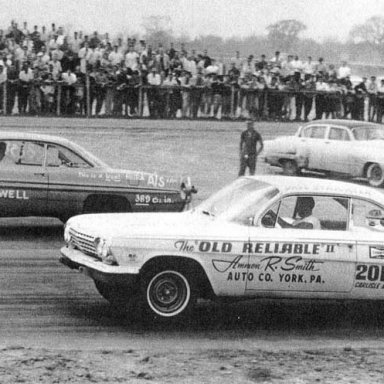 Old Reliable II-1962 in Detroit v Bill Sidwell's Pontiac