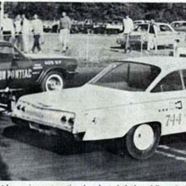 Old Reliable II Match Race v Arlen Vanke in the Anderson Pontiac