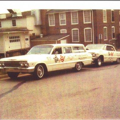 Ronnie Sox 1963 Race Team