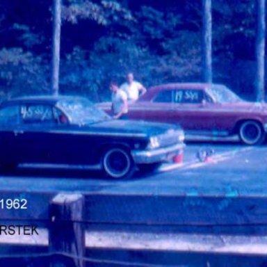 Billy NO-DOZE vs Dickie Mauriello 1962 409 Impala, later owner by Joe Franco