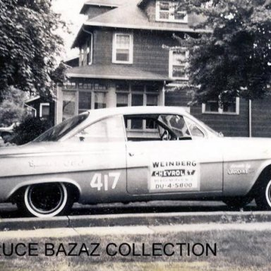 Weinberg Chevrolet Buzzard II 1962 A/Stock