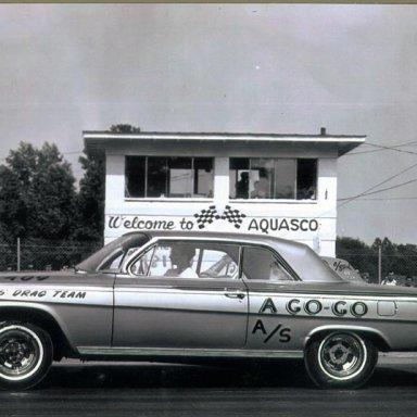 Dennis Drag Team, A-Go-Go 1962 409 at Aquasco