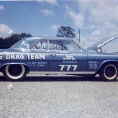 Lewis Drag Team 1962 Impala 409