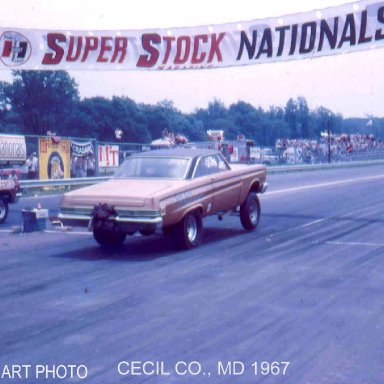 """Comet vs Mousie Brown- time trials 'Cecil County Drag-O-Way"""""""