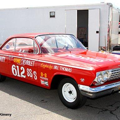 Hayden Proffitt-Cone Chevrolet replica 1962 409 BelAir by Harold's Hotrods and Customs