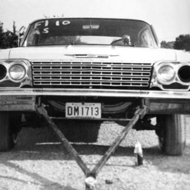 Doug Marion, Chevy Charger with the tow bar