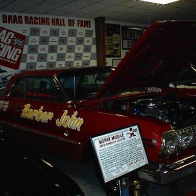 Barber John 1963 Impala at Garlets Museum