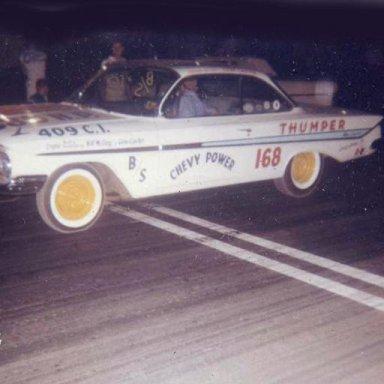 """""""The Thumper"""" 1961 409 Impala"""