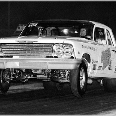 """""""Texas Harley"""" 1962 409 BelAir"""