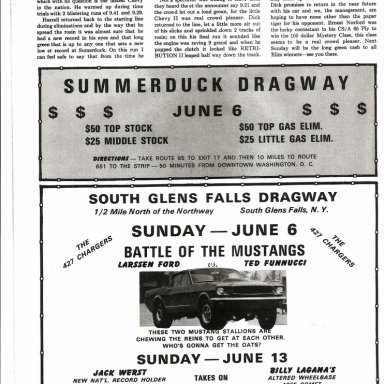 Summerduck Press. Dick Harrell Sets New Record.