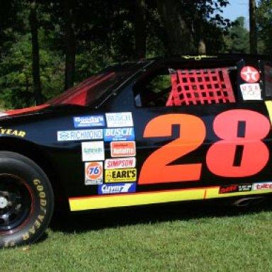 Daveys Car in back yard 1