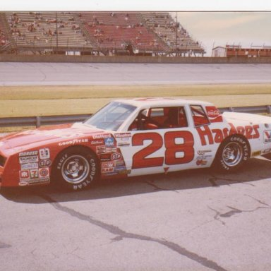 Cale Yarborough at Michigan
