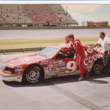 Bill Elliott at Michigan