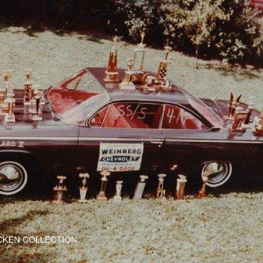 Buzzard II with trophies