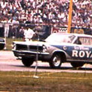 Pontiac SS- ROYAL PONTIAC at the 63 Indy Nationals