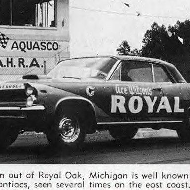 Pontias SS- Royal Pontiac at Aquasco