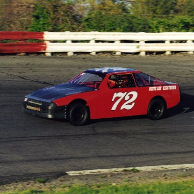 old 72 racecar