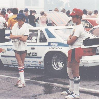 Rusty and Billy Glidden 1982