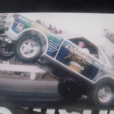 richard schroeder great wheelstander funny car racer