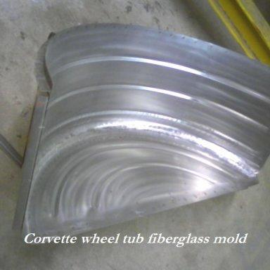 Wheel tub mold