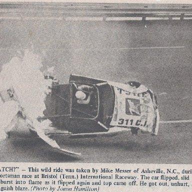 Southern Motor Racing Journal Messer flip @ Bristol
