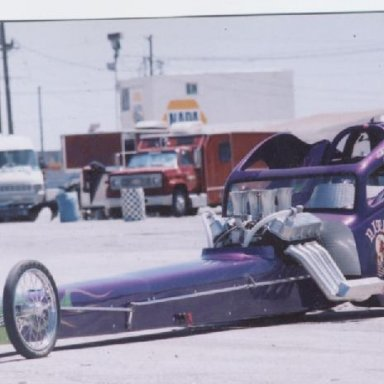 dragster at palmdirt