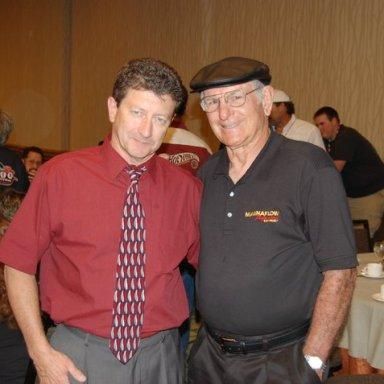Mike Zarnock and Don Garlits