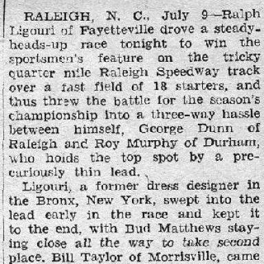 Raleigh - 1955