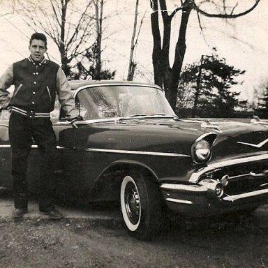 1957G01 Griffs 57 Chev