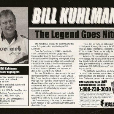 1997 handout, reverse side