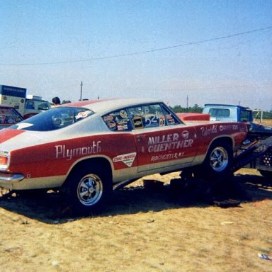 Ed Miller & Guenther Cuda SS 68 SS Nationals